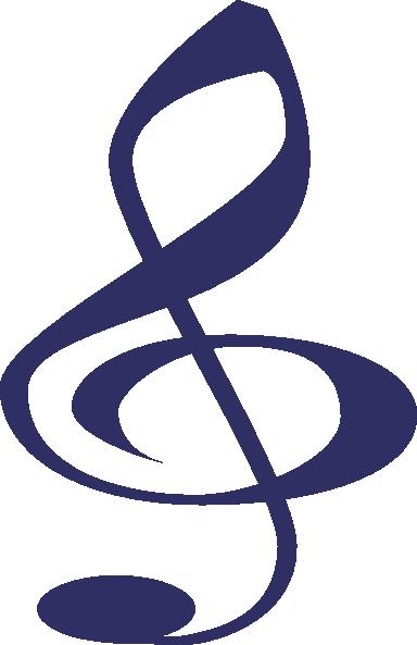 Clip Art Treble Clef Clip Art blue treble clef clip art at clker com vector online download this image as