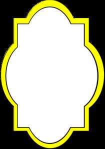 Yellow Frame Clip Art at Clker.com - vector clip art ...