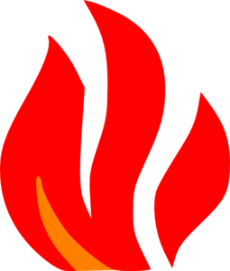 Fire Red And Orange Clip Art