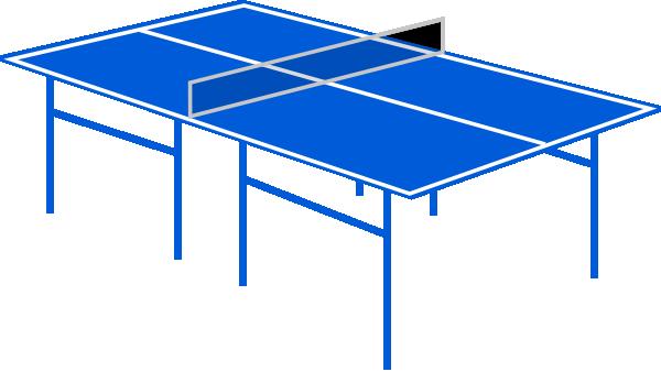Table tennis table clip art at vector clip art - Friendship tennis de table ...