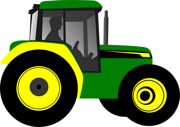 Tractor Clip Art Transparent : Tractor clip art at clker vector online