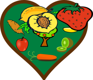 Fruit Heart Clip Art