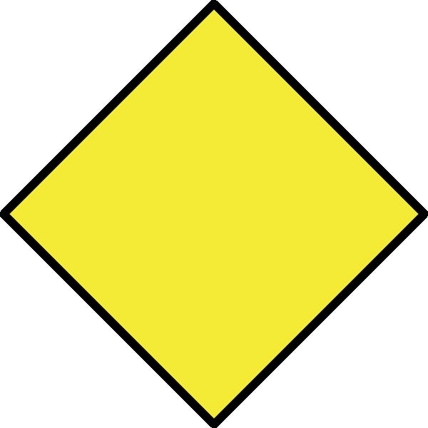 Yellow Diamond 2 Clip Art at Clker.com - vector clip art ...