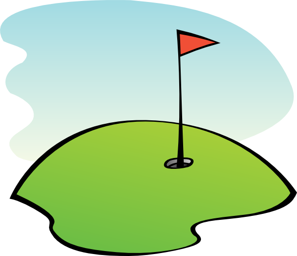 Golf Green Clip Art at Clker.com - vector clip art online ... Golf Hole Clip Art