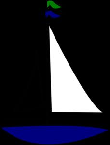 Jamies Sailboat Clip Art at Clker.com - vector clip art online ...