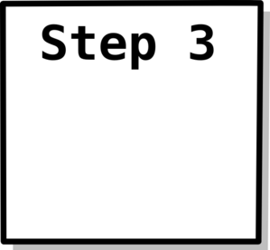 Step 3 Box Clip Art