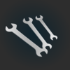 Spanners Icon Clip Art