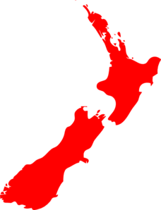 Nz Map Clip Art