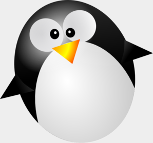 Penguin With No Feet Clip Art