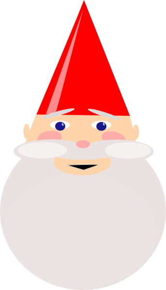 gnome with red hat clip art at clkercom vector clip art