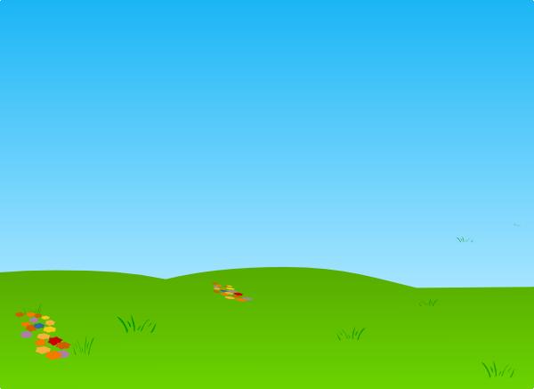 Fresh Grass And Sky Clip Art at Clker.com - vector clip art online ...