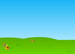 Fresh Grass And Sky Clip Art At Clker Com Vector Clip Art Online