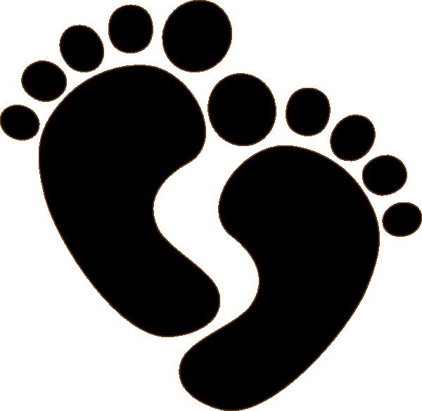 baby feet clip art at clker com vector clip art online royalty rh clker com clip art baby footprints free clipart baby feet