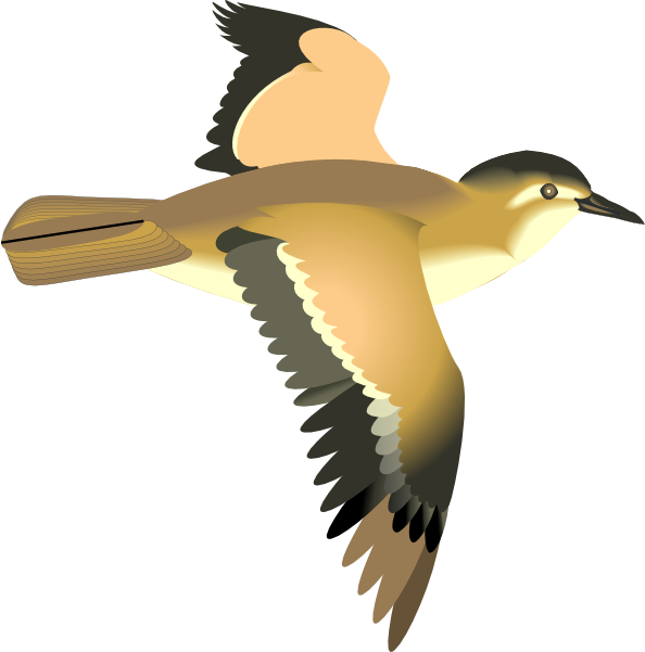 Flying Bird Clip Art at Clker.com - vector clip art online ...