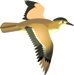 Flying Bird Clip Art