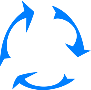 Recycle Thin Clip Art