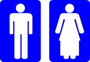 Toilet Islamic Signage Clip Art