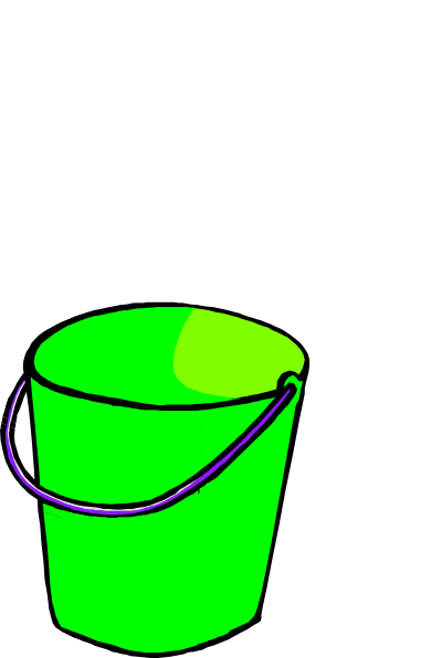 Green Bucket Clip Art at Clker.com  vector clip art online, royalty