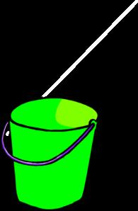 Green Bucket Clip Art At Clker Com Vector Clip Art