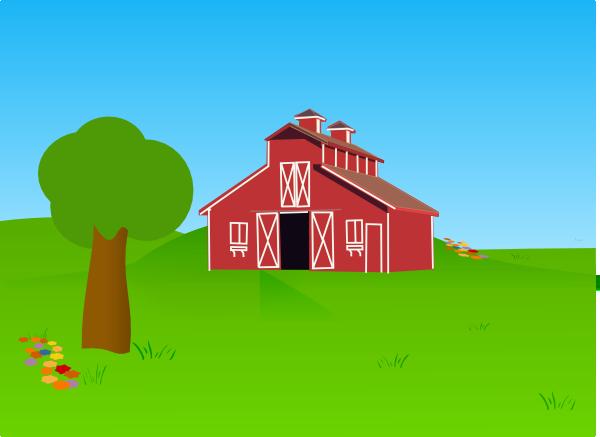 Barn Clip Art At Clker Com Vector Clip Art Online