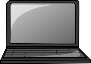 Laptop Gray Clip Art