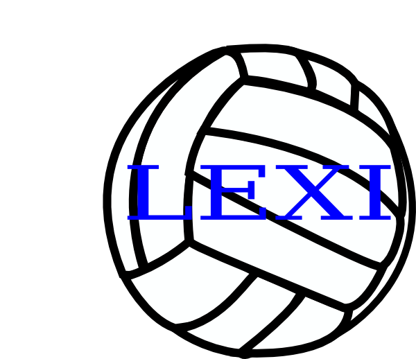 clipart pictures of volleyball - photo #14