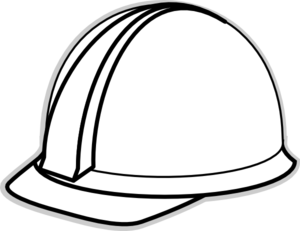 White Hard Hat 2 Clip Art at Clker.com - vector clip art online ...