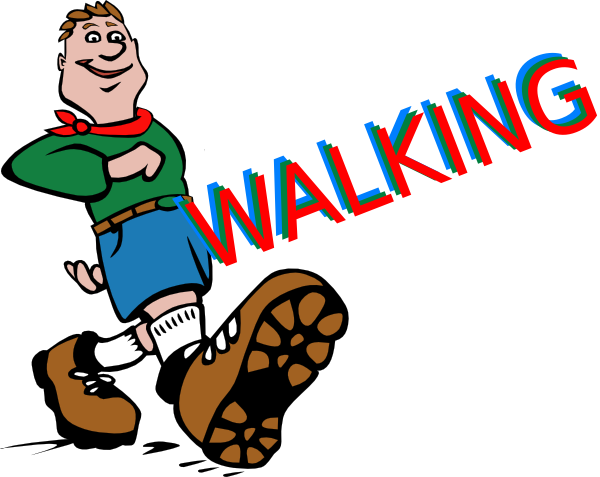 walking clip art at clker com vector clip art online royalty free rh clker com clipart walk the dog clipart walk of fame