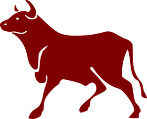 Cartoon Bull Clip Art