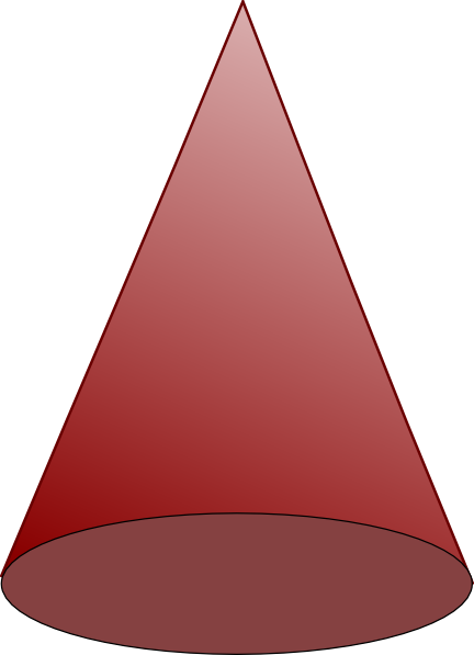 Clip Art Cone Clip Art brown cone clip art at clker com vector online royalty download this image as