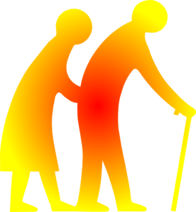 Couple Walking Clip Art