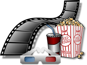 Cinema Items Clip Art