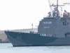 Uss Mobile Bay  Gets Underway For Deployment. Clip Art