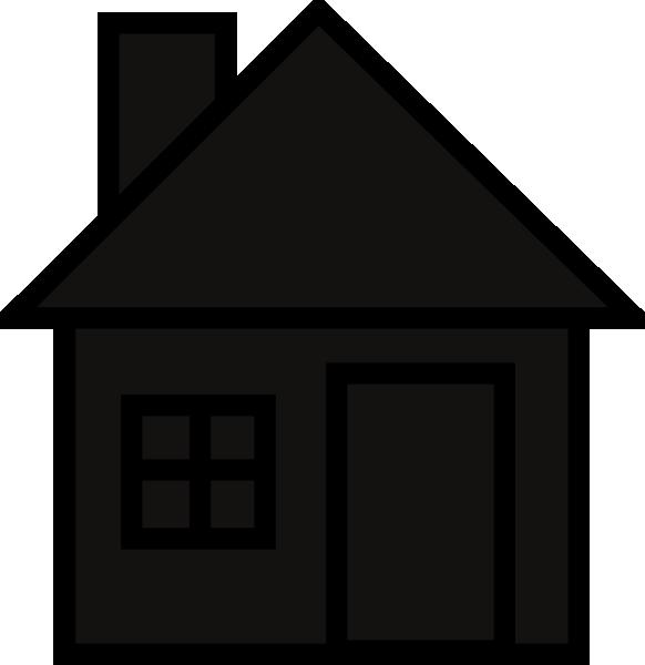 house silhouette clip art at clker com vector clip art online