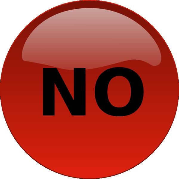 No Button Clip Art at Clker.com - vector clip art online ...