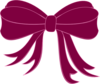 Pink Bow Ribbon Clip Art