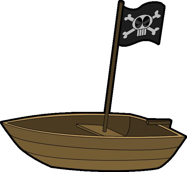 pirate flag boat clip art at clker com vector clip art online rh clker com