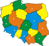 Map Of Poland 2 Clip Art