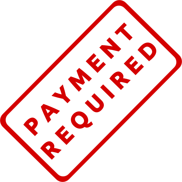 Payment Required Stamp Clip Art At Clker Com Vector Clip