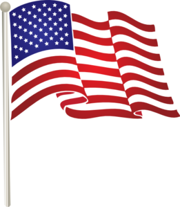 United States Waving Flag Clip Art