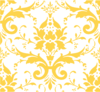 Golden Damask Clip Art