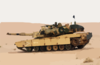 Marines Fire The M1-a1 Abrams Tank Clip Art