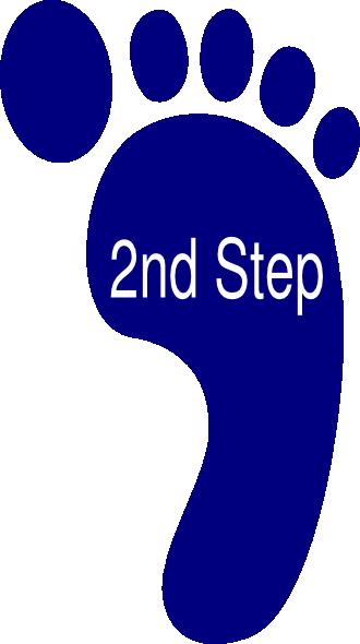 Second Step Clip Art at Clker.com