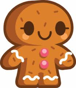 Gingerbread Person Clip Art