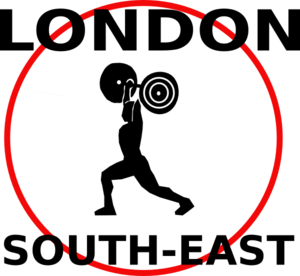 London South East Weight Lifter Clip Art