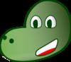 Big Eye Dinosaur Clip Art at Clker.com - vector clip art ...