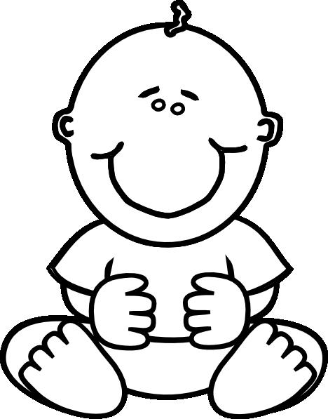 baby boy clip art at clkercom vector clip art online