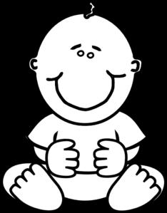 Black Baby Boy Clip Art