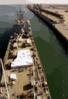 The Royal Fleet Auxiliary, Landing Ship Logistic Rfa Sir Galahad (l 3005) Arrives In The Iraqi Port City And Delivers The First Shipment Of Humanitarian Aid From Coalition Forces. Clip Art