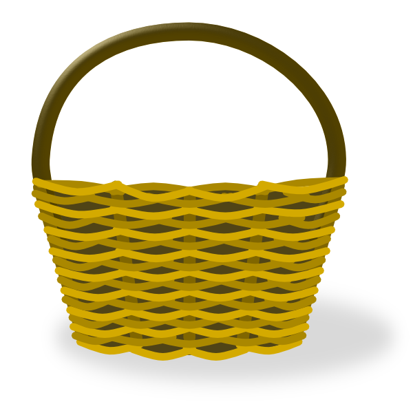 basket clip art at clker com vector clip art online Deflated Hot Air Balloon Clip Art Basket Clip Art